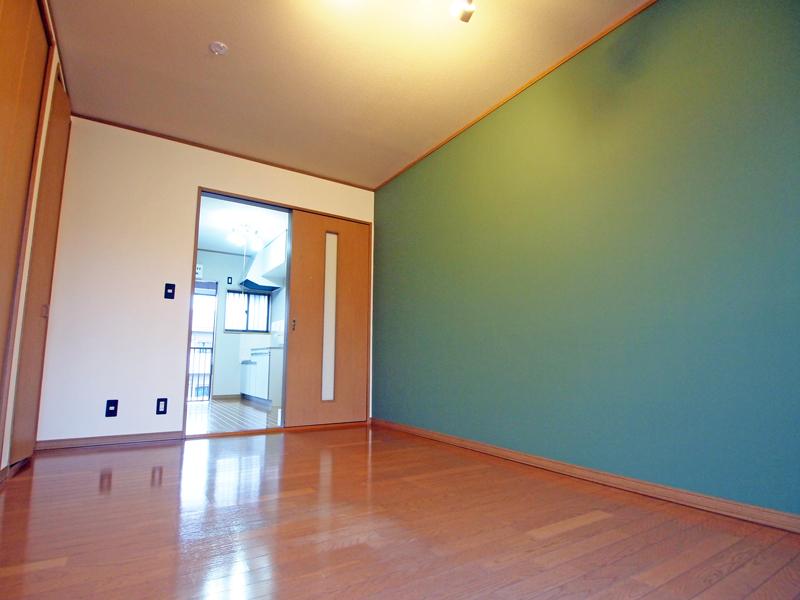 ナチュラル感のあるグリーンな洋室:宇都宮203[vol.0007]