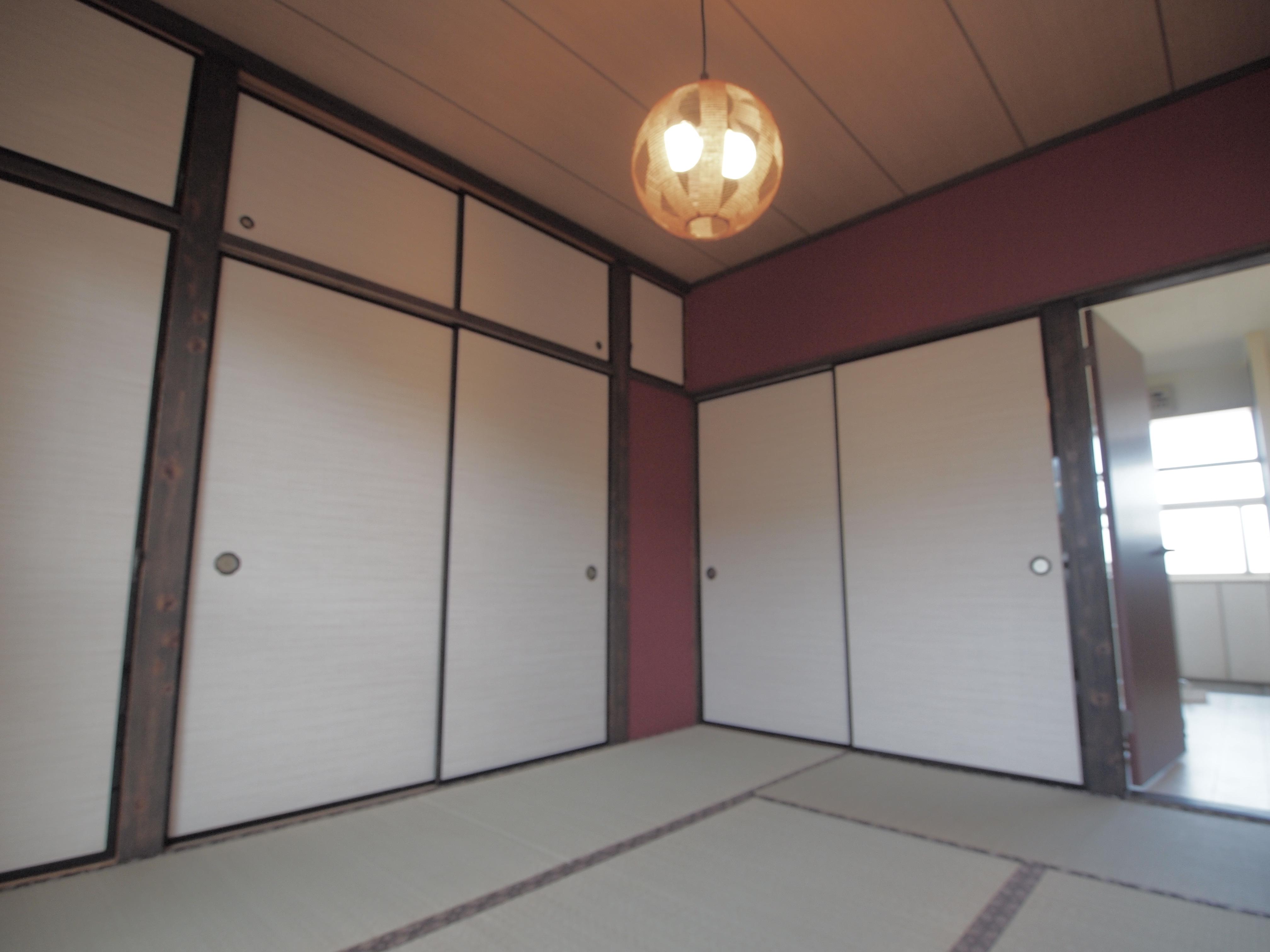 施工事例:和の伝統色を中心にした配色アレンジ[vol.0013]