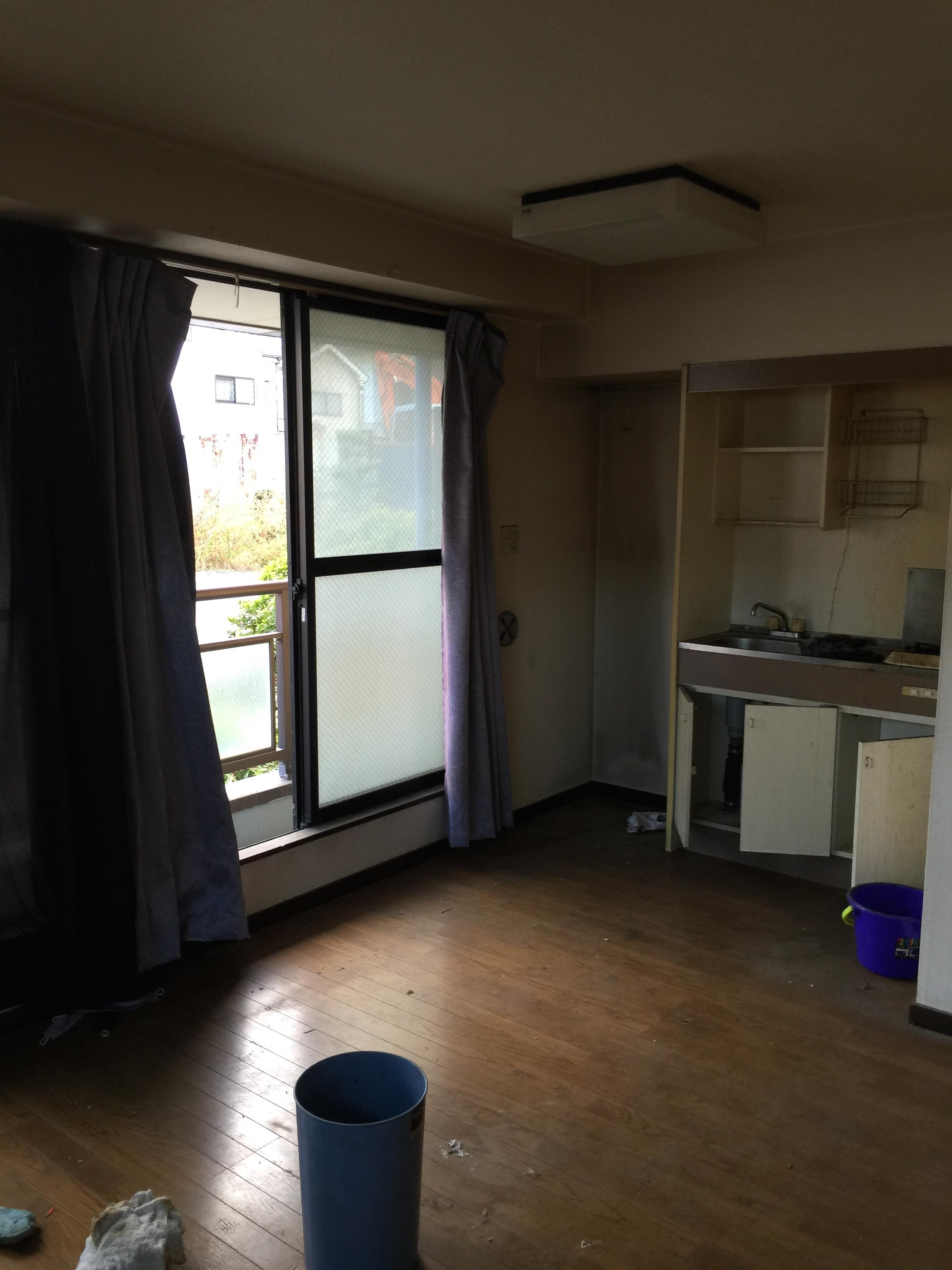 施工事例:埼玉県蕨市1R 驚きの復活したお部屋